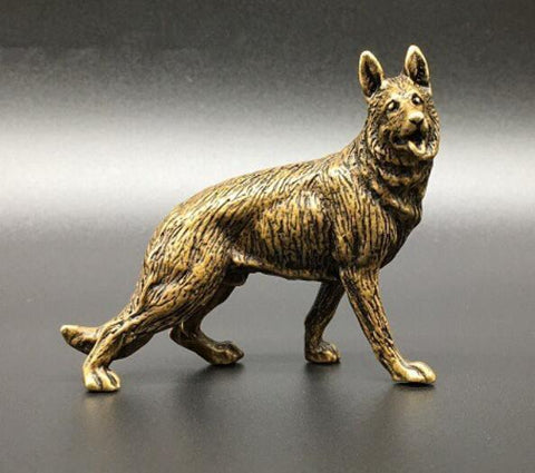 Statue Loup en Pierre | Animal Totem Shop