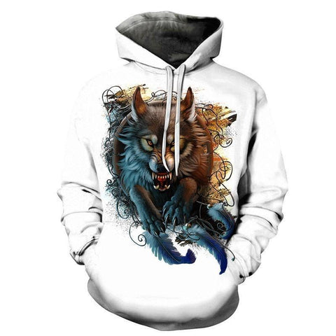 Sweat Loup Animal | Animal Totem Shop