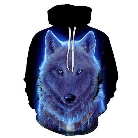 Sweat Loup Blanc | Animal Totem Shop