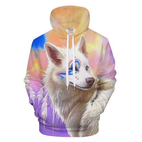 Sweat Loup Femme | Animal Totem Shop