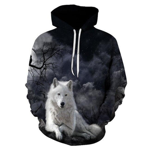 Sweat Loup Forêt Démoniaque | Animal Totem Shop