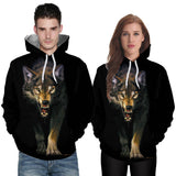 Sweat Loup Garou Féroce | Animal Totem Shop