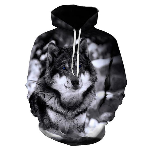 Sweat Loup Photo Loup | Animal Totem Shop
