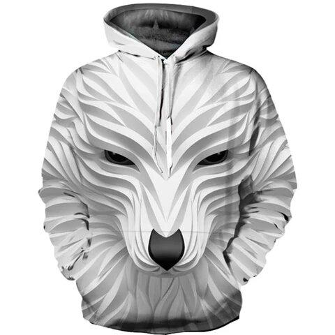 Sweat Motif Loup | Animal Totem Shop