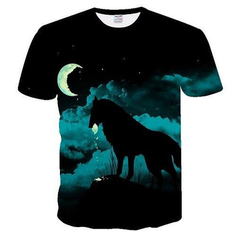 T-Shirt de Loup | Animal Totem Shop