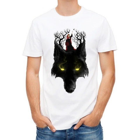 T-Shirt Loup Chaperon | Animal Totem Shop