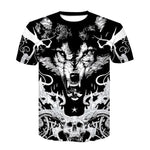 T-Shirt Loup Guerrier | Animal Totem Shop
