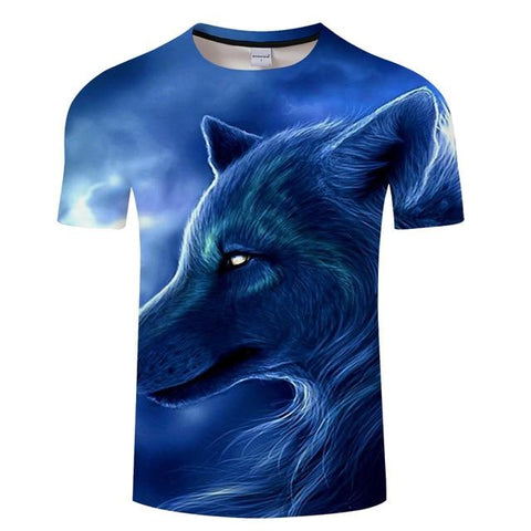 T-Shirt Loup Guide Spirituel | Animal Totem Shop