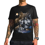 T-Shirt Loup Homme | Animal Totem Shop