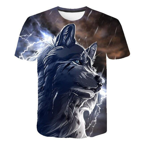 T-Shirt Loup Mâle | Animal Totem Shop