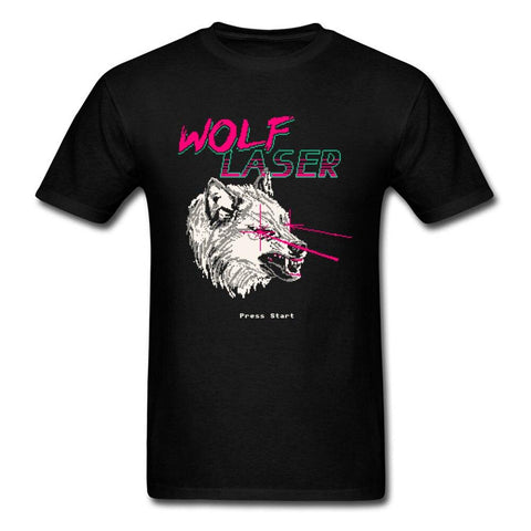 T-Shirt Loup Wolf Laser | Animal Totem Shop