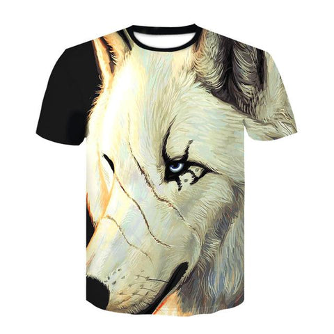 T-Shirt Tête de Loup | Animal Totem Shop
