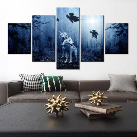 Tableau Loup Art | Animal Totem Shop