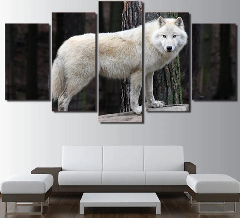 Tableau Loup Nature | Animal Totem Shop