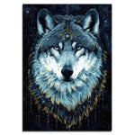Tableau Loup Symbole | Animal Totem Shop