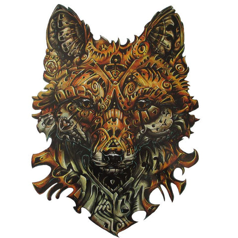 Tatouage Loup Old School | Animal Totem Shop