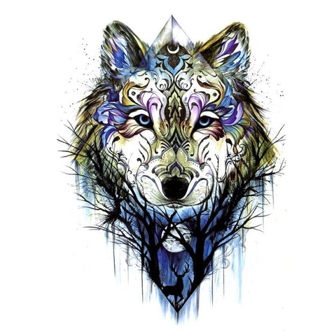 Tatouage Loup Symbole | Animal Totem Shop