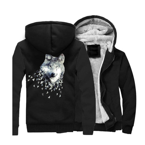 Veste Loup à Capuche | Animal Totem Shop