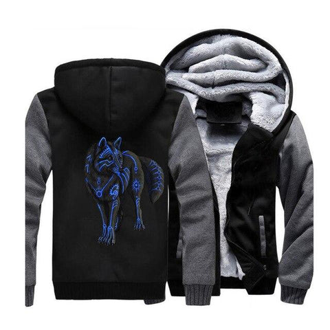 Veste Loup Noir | Animal Totem Shop