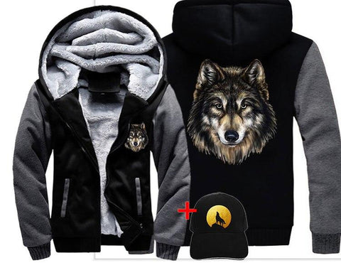 Veste Tête de Loup | Animal Totem Shop