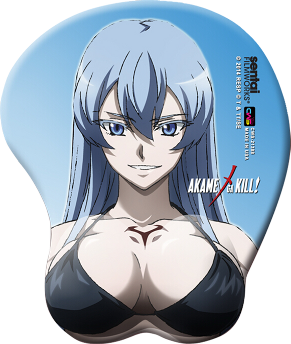 Akame ga Kill Esdeath Oppai Mouse Pad