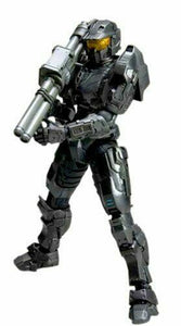 Square Enix HALO COMBAT EVOLVED 10TH ANNIVERSARY PLAY ARTS KAI VOL. 1 ACTION FIGURE Spartan Mark V Black