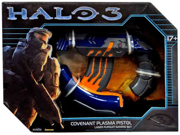 Jasman Toys Halo 3 Laser Pursuit Covenant Plasma Pistol Gaming Set