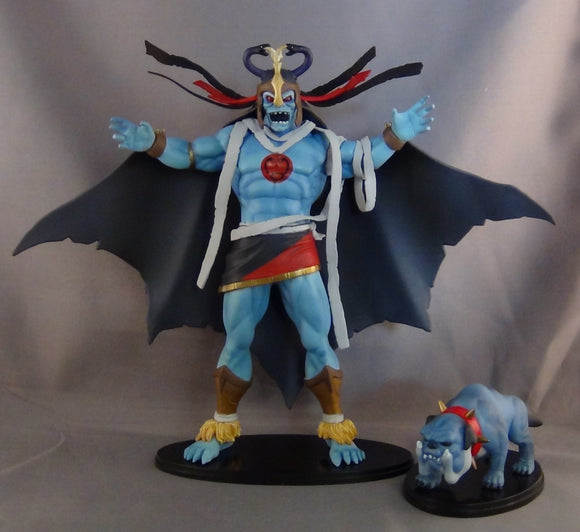 2011 SDCC Thundercats Mumm-Ra and Exclusive Ma-Mutt Deluxe Staction Figure Set by ICON Heroes
