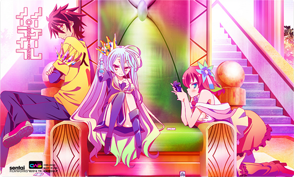 No Game No Life 01DM