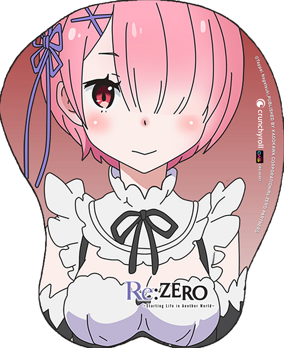 Re:Zero Ram Oppai Mouse Pad