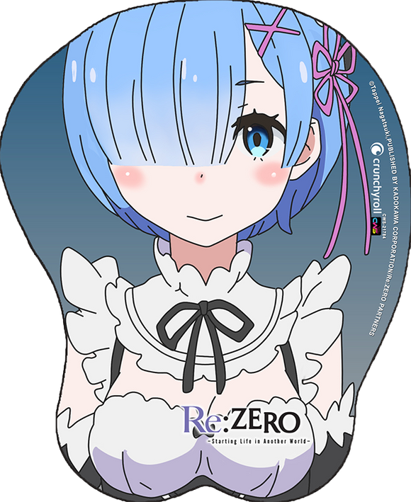 Re:Zero Rem Oppai Mouse Pad