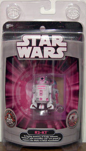 HASBRO 2007 SDCC MAKE A WISH STAR WARS R2-KT PINK IMPERIAL DROID FIGURE