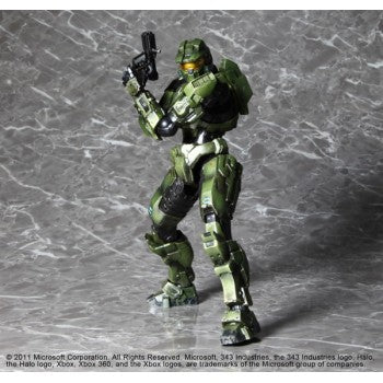 Square Enix HALO COMBAT EVOLVED 10TH ANNIVERSARY PLAY ARTS KAI VOL. 1 ACTION FIGURE MASTER CHIEF