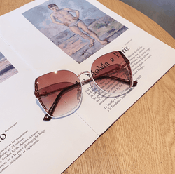 Charlie's Angels Bronze Wire Sunglasses - Pretty Fab Things