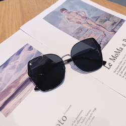 Charlie's Angels Black Wire Large Sunglasses - Pretty Fab Things