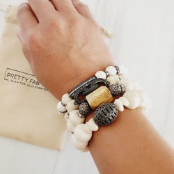 African Beads Chunky Bracelet Sets | Pretty Fab Things