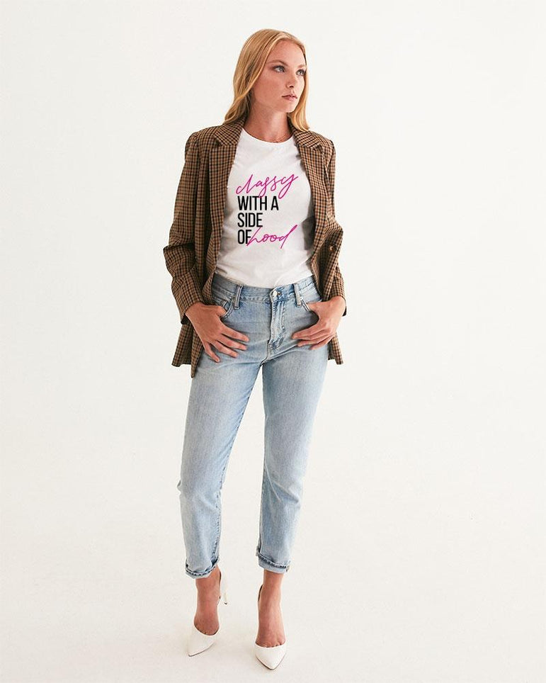 Classy With A Side of Hood Tee - Pretty Fab Things
