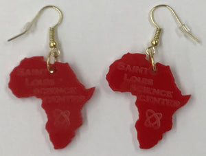 Saint Louis Science Center African Earrings