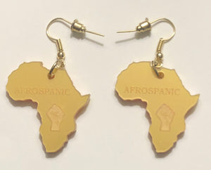 Afrospanic African Earrings Line