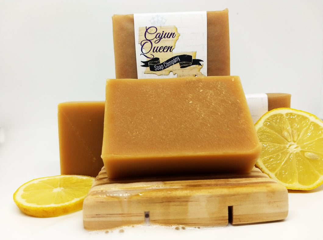 Lemongrass Goats Milk Soap