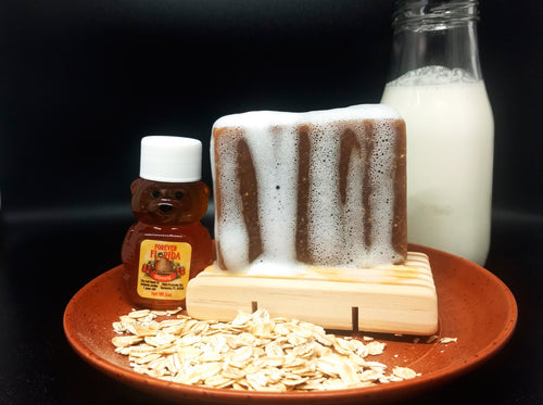 Honey and Oatmeal Goats Milk Soap