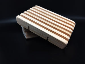 Hand Crafted Wood Soap dish