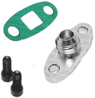 Boost Monkey Turbo Oil Drain Outlet Flange Adapter -10AN Fitting