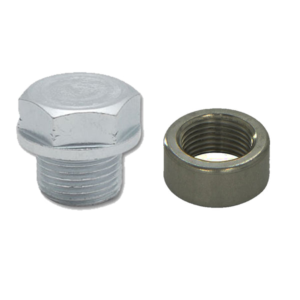 Boost Monkey Mild Steel Weld In O2 Sensor Bung Kit