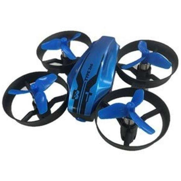 Radio control flight drone tetral type 2