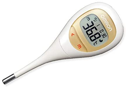 Omron MC-682 digital body thermometer, for armpit