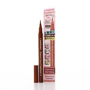 Canmake Quick Easy Eyeliner 0.02 oz (0.5 g) browns