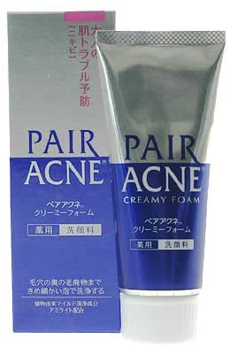 Pair Acne creamy foam medicinal wash 80g