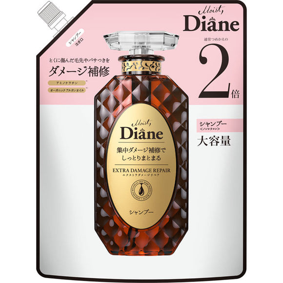 Nature Lab Moist Diane Perfect Beauty Extra Damage Repair Shampoo Refill Large Capacity 660Ml