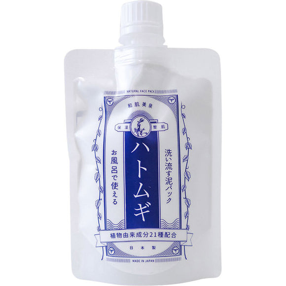 For S Co., Ltd. Wahadaizumi Rinse Mud Pack Hatomogi 180G